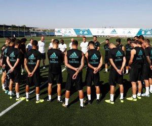 نجوم ريال مدريد يحتفلون بجوائز «اليويفا» (صور)
