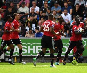 اهداف مباراة مانشستر يونايتد وسوانزي سيتي بالدوري الإنجليزي (فيديو)