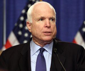 السيناتور الأمريكي مكين يتم المرحلة الأولى من العلاج الإشعاعي والكيماوي