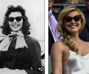 الموضة ترجع للخلف.. نجمات هوليوود يحيين موضة النظارات الشمسية لفترة منتصف القرن الماضي