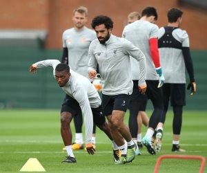محمد صلاح يشارك في تدريبات ليفربول استعداداً لمواجهة هوفنهايم