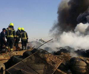 إخماد حريق داخل منزل فى الصف دون إصابات