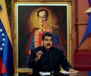 الرئيس الفنزويلي نيكولاس مادورو يدعو خصومه للحوار