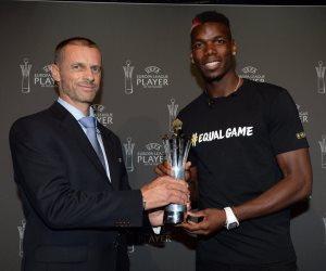بوجبا أفضل لاعب فى الدوري الأوروبي موسم 2016 / 2017
