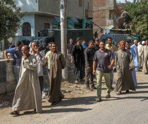 حملة لإزالة التعديات على أملاك الدولة بمحافظة الجيزة