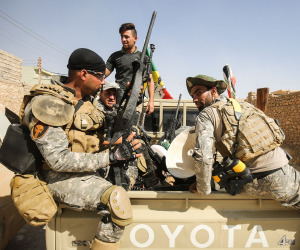 القوات العراقية تعتقل 14 من نساء داعش يحملن الجنسية التركية