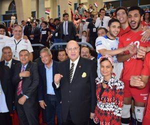 وزير الرياضة يضاعف مكافآت منتخب الطائرة تحت 23 سنة بعد إنجاز المركز الخامس ببطولة العالم