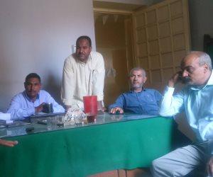 عقد الاجتماع الثاني لفرق عمل التوجيه المائي بري المنيا