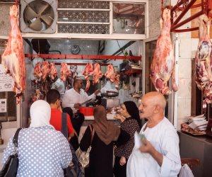 ماذا قالت شعبة القصابين عن أسعار اللحوم البفري والضأن؟
