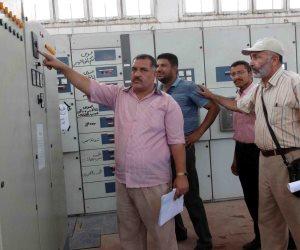 رئيس شركة مياه سوهاج يعلن أفضل 3 محطات صرف صحي (صور)