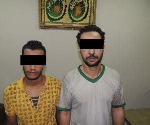 سقوط عصابة سرقة الدراجات النارية بالإكراه في عين شمس