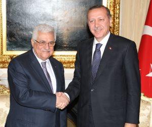 اجتماع بين أبو مازن وآردوغان في آنقرة