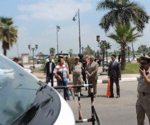 ضبط 6881 مخالفة مرورية متنوعة خلال حملة أمنية بالجيزة