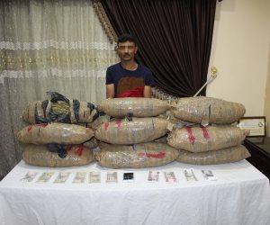 ضبط 40 كيلو بانجو فى حملة أمنية موسعة بدمياط  (صور )