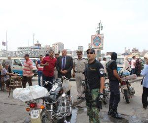 ضبط 617 مخالفة مرورية و16قضية تموينية متنوعة في حملة أمنية بدمياط