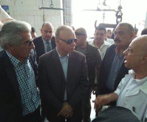 محافظ القاهرة يتفقد مجزر طرة والبساتين ويطمئن على توافر أنابيب البوتجاز بالأسعار الرسمية