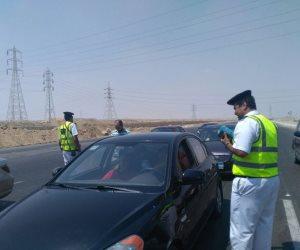 مرور القاهرة: تحرير 6267 مخالفة متنوعة بمحاور وميادين العاصمة