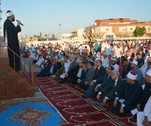 سكرتير عام محافظة جنوب سيناء يؤدي صلاة عيد الأضحى بساحة حربي مبارك