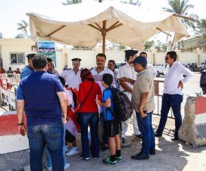 مصر واوغندا.. الأمن يسمح للجماهير بدخول برج العرب مجانًا