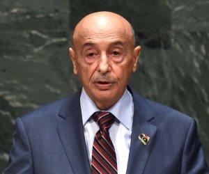 عقيلة صالح: الاتفاق مع تركيا باطل.. وطالبنا الأمم المتحدة سحب الثقة من حكومة السراج