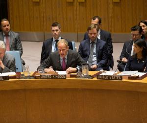 مندوب فلسطين في مجلس الأمن: يجب محاسبة المسؤولين عن مجزرة غزة