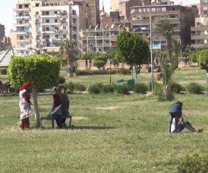 بعد استغاثات الأهالي.. أمن الاسكندرية يكثف المرور على حديقة محمد علي