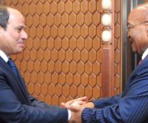 السيسي ورئيس جنوب أفريقيا يؤكدان دعمهما لمشروع طريق القاهرة- كيب تاون