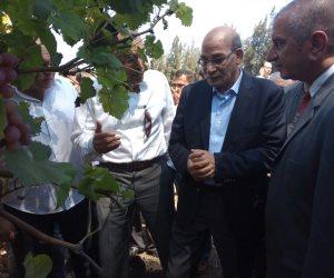 وزير الزراعة: يكلف مركز البحوث بإنشاء نماذج للري المطور بالمحطات البحثية