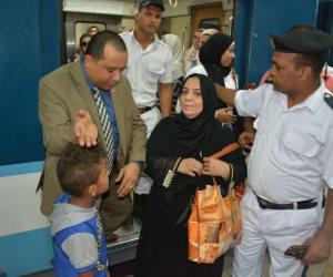القبض على نشالة لاتهامها بسرقة المواطنين في المترو