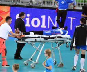 الأشعة تكشف إصابة لاعبي منتخب شابات الطائرة