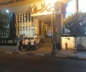 اندلاع حريق في مسرح السلام أثناء بروفات مسرحية «ولاد البلد»