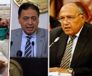 نشرة أخبار الواحدة: مصر السابعة عالميا في حفظ السلام.. ووزير الصحة: «أنا كدة ميت»