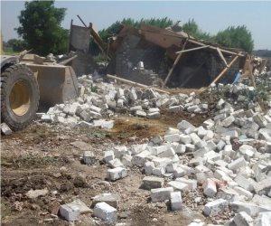 محافظ الدقهلية: إزالة ٢٢ حالة تعدي على أرض زراعية بمركز ميت غمر