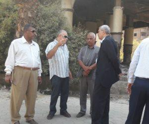 رئيس حي الهرم يقيل مدير إدارة النظافة من منصبه