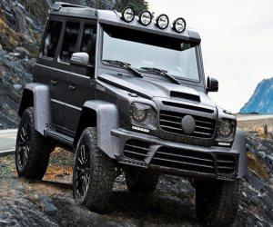 تعرف على مواصفات الفنية لسيارة «AMG G500 4x4²» بعد التعديل