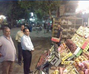رئيس مدينة أبوقرقاص بالمنيا يتابع الالتزام بـ«التسعيرة »في السوق الشرقي