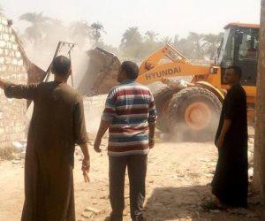 إزالة 37 حالة تعدٍ على الاراضي الزراعية بأسيوط