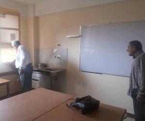 محافظ سوهاج: انتهاء أعمال الإحلال والتجديد بمدرسة المراغة الثانوية (صور)