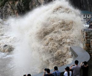 """مع قرب وصول """"إعصار لان"""".. اليابان تلغي الرحلات الجوية"""