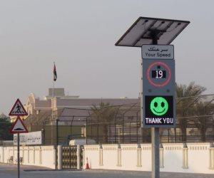 «طرق دبي» تدشن لوحات ذكية لإرشاد السائقين بالسرعة المناسبة