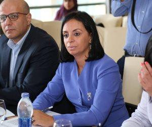 مايا مرسي تشارك في لجنة تحكيم المسابقة الدولية لأفضل مشروع في خدمة المجتمع