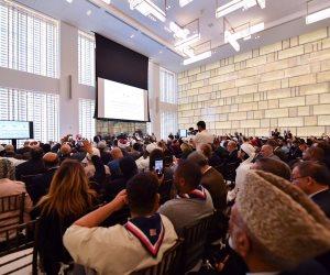 بحضور علماء 56 دولة ومشاركة الأزهر.. افتتاح مؤتمر التواصل الحضاري بين أمريكا والعالم الإسلامي في نيويورك (صور)