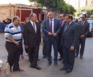 سلطان ودرويش يتفقدان أعمال تطوير عزبتي سكينة وحجازي شرق الإسكندرية (صور)