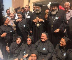 """الكنيسة تفتتح مدرسة جديدة بحضور محافظ بور سعيد ووكيل وزارة التربية والتعليم """" صور"""""""