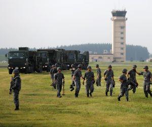 بالقرب من شبه الجزيرة الكورية.. انطلاق تدريبات بحرية أمريكية يابانية