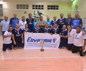 فريق الطائرة يفوز بأول كأس لمصر للطيران في بطولة الجمهورية للشركات