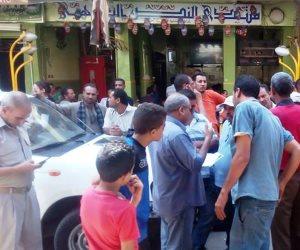 حملة لإإزالة البراويز في سوهاج (صور)