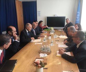 أبو الغيط يبحث مع سكرتير الأمم المتحدة الأوضاع في سوريا وليبيا واليمن