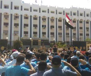 """""""جامعة الأزهر"""" تعلن الحداد على أرواح شهداء الوطن..ووقفة تضامنا مع أرواحهم الطاهرة"""