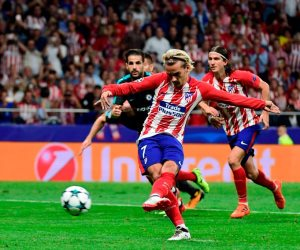 أتلتيكو مدريد يتقدم على مارسيليا بهدف دون رد فى الشوط الأول